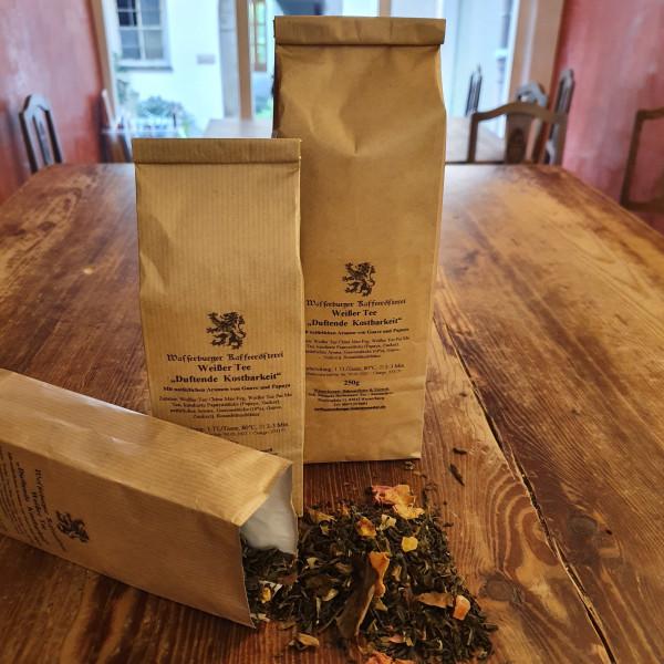 Weißer Tee - Duftende Kostbarkeit, natürlich