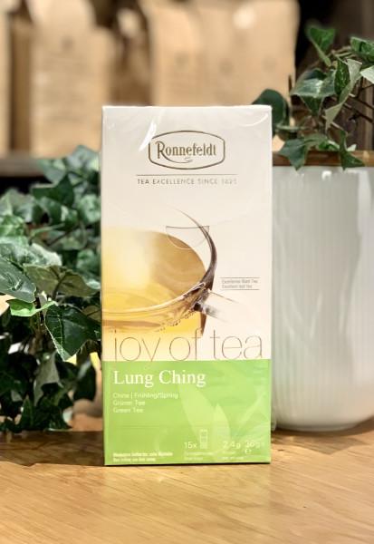 Ronnefeldt Joy of Tea® Lung Ching aus der Provinz Zhejiang Grüner Tee