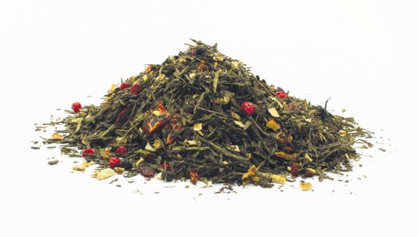 Grüner Tee Vergissmeinnicht Cranberry-Kirsch