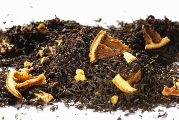 Sweet Orange natürlich aromatisiert Schwarzer Tee