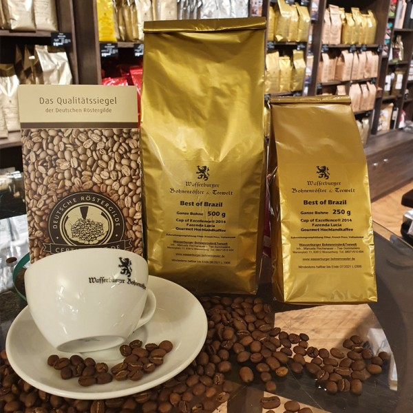 Best of Brazil - Cup of Excellence®, Filterkaffee