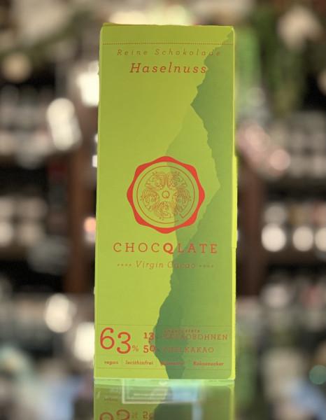 CHOQLATE Bio Schokolade Haselnuss