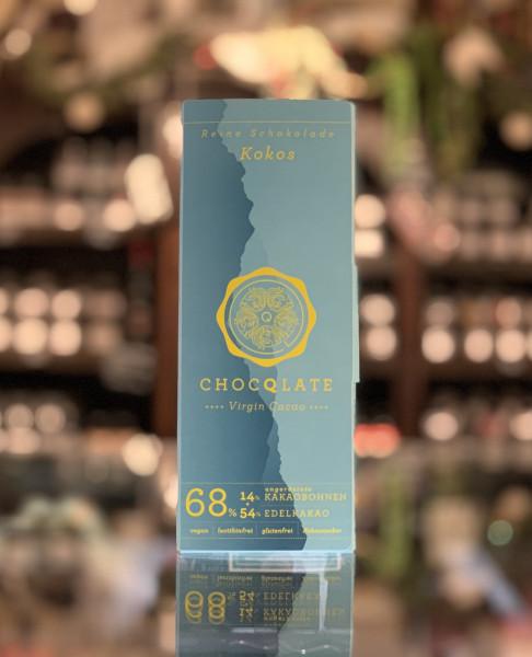 CHOQLATE Bio Schokolade Kokos