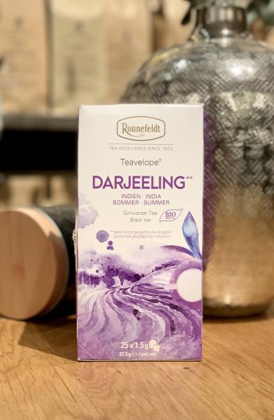 Ronnefeldt Teavelope® Darjeeling* Indien Summer Bio Schwarzer Tee