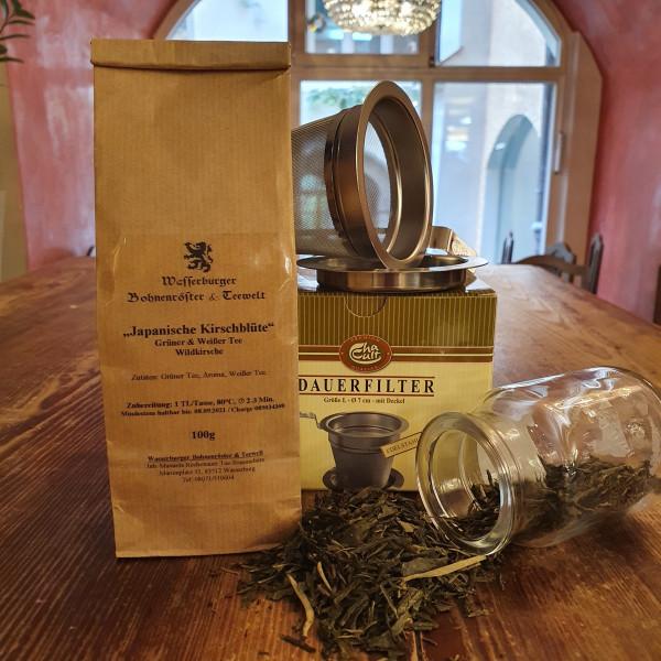 Grüner Tee - Sencha - Kirschblüte