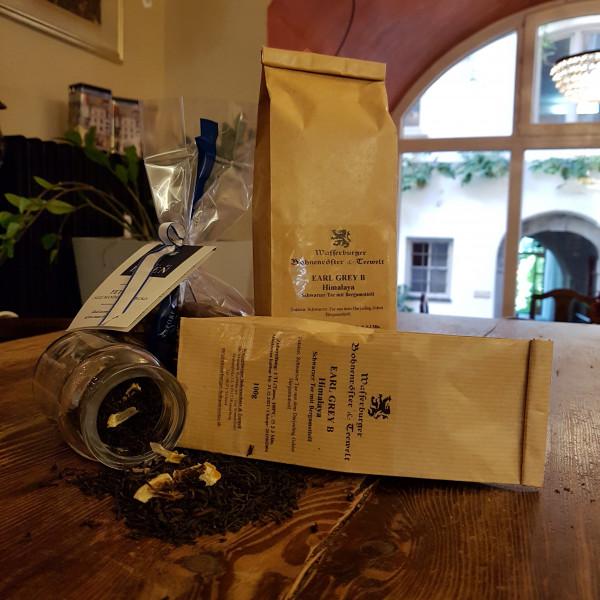 Earl Grey Himalaya Schwarzer Tee verpackt
