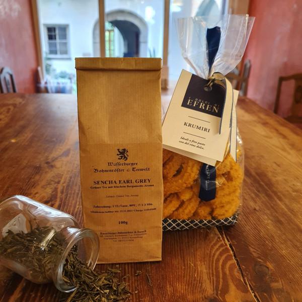 Grüner Tee - Sencha - Earl Grey