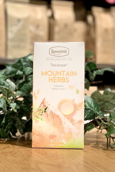 Ronnefeldt Teavelope® Mountain Herbs Bio Kräutertee