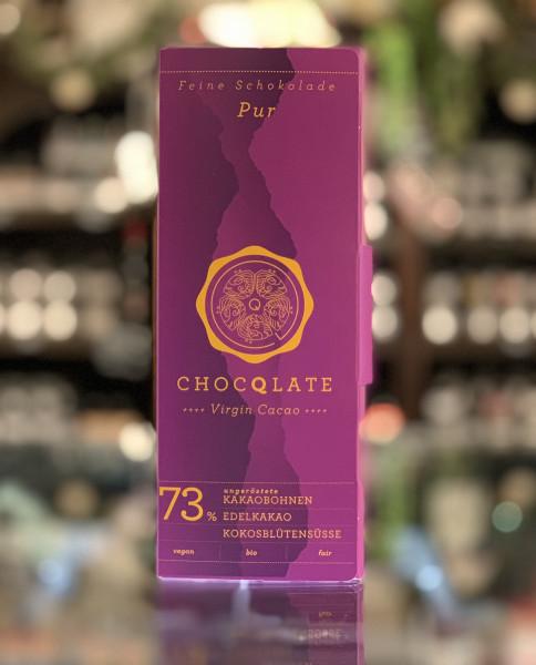 CHOQLATE Bio Schokolade Pur