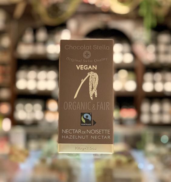 Chocolat Stella - vegane Couverture mit Haselnusspaste